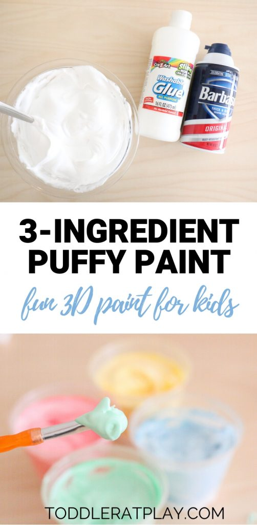 3 ingredient puffy paint- toddler at play (1)