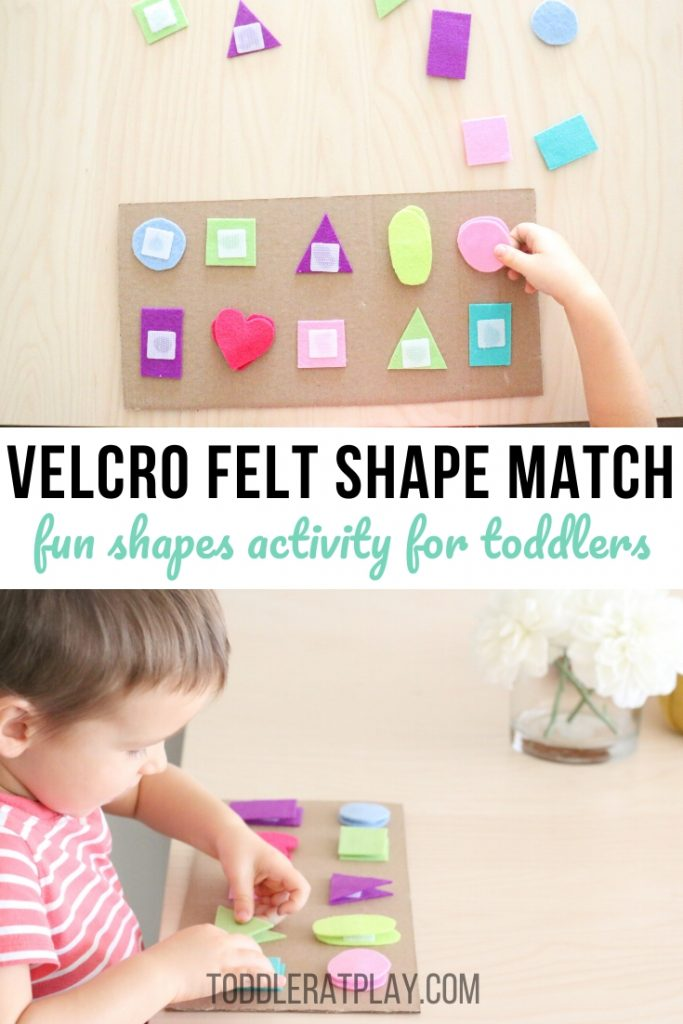 Velcro Felt Shape Match