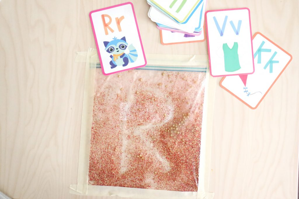 glitter sensory writing pad- toddler at play (2)