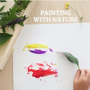 painting with nature- toddler at play (15)