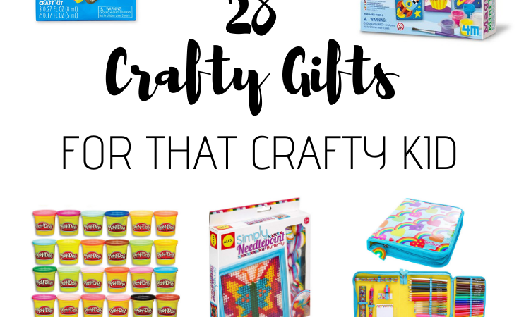 28 Gifts for the crafty kid