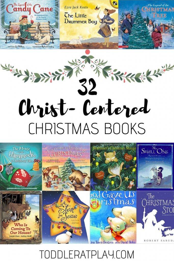 32 Christ- Centered Christmas Books
