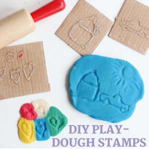 diy play dough stamps