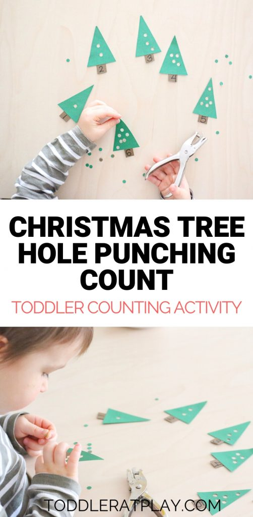christmas tree hole punching activity- toddler at play (3)