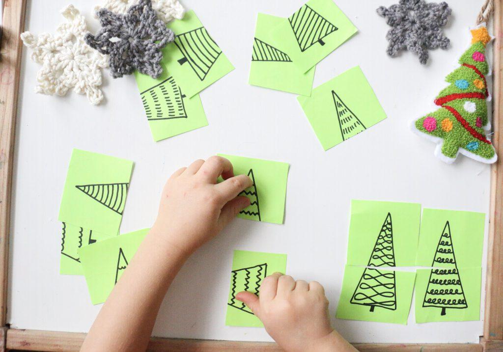 christmas tree puzzles- toddler at play (2)