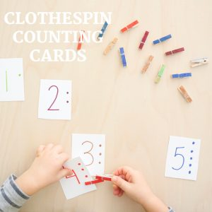 clothespin counting cards- toddler at play (9)