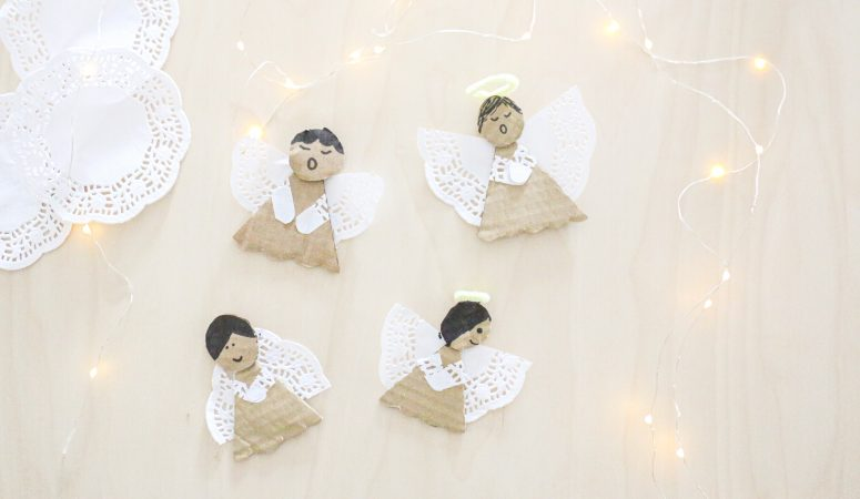 Doily Angels