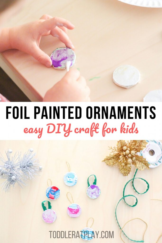 foil painted ornaments- toddler at play (2)