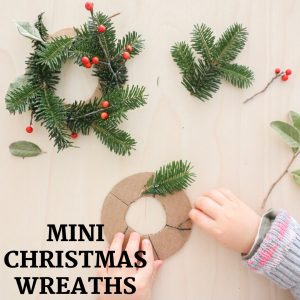 mini christmas wreaths- toddler at play (2)