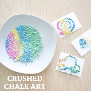 crushed chalk art- toddler at play (18)
