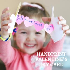 handprint valentines day card (3)