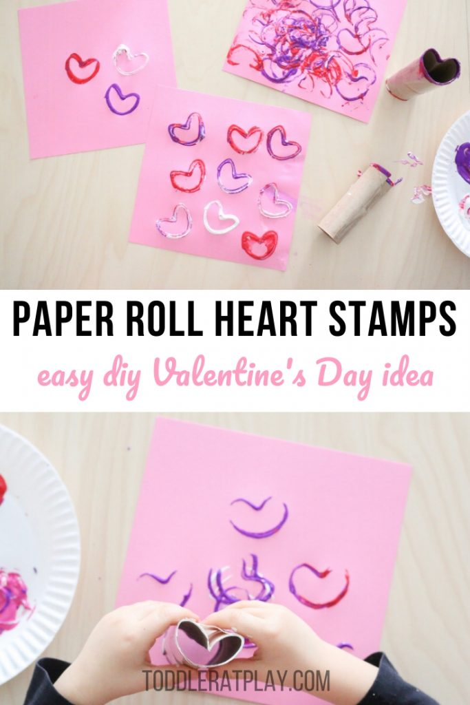paper roll heart stamps- toddler at play (3)