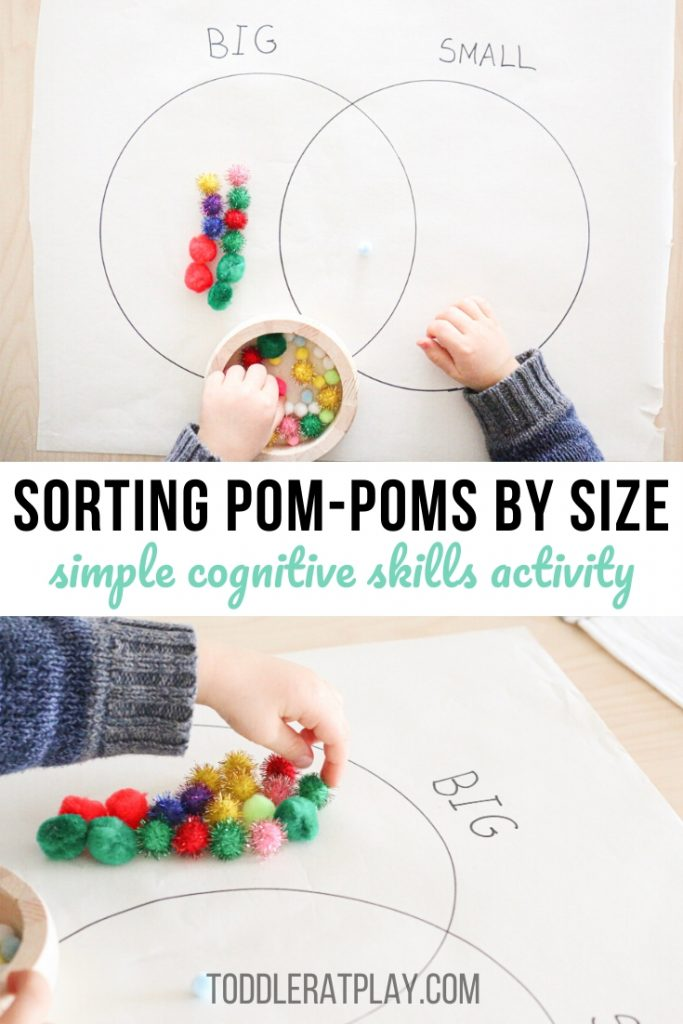 sorting pom-poms by size- toddler at play (7)