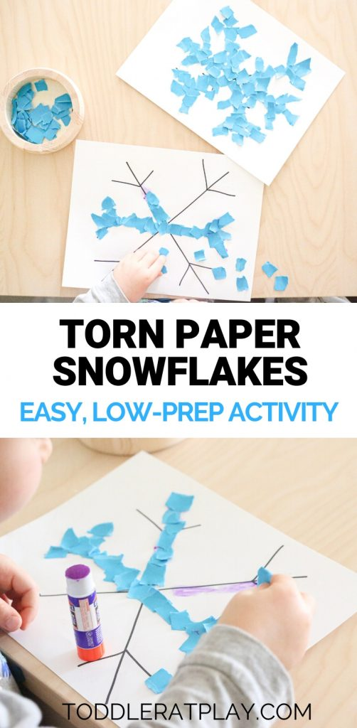 torn paper snowflake- toddler at play (1)