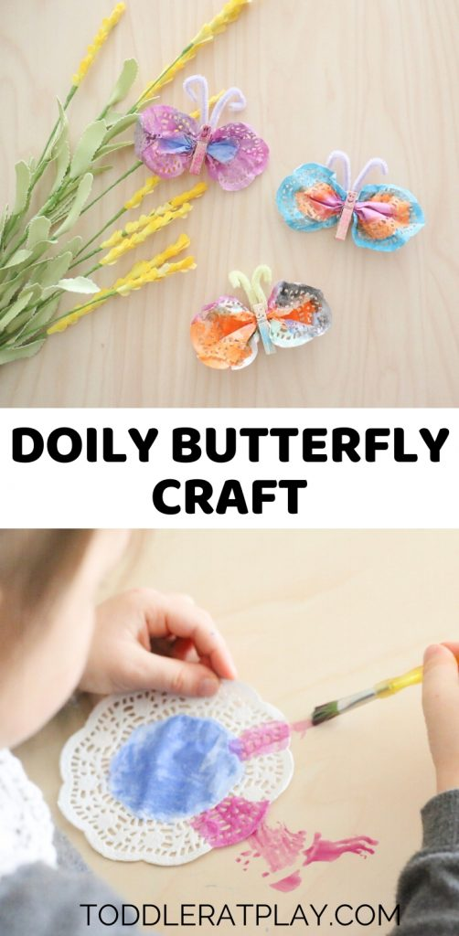 doily butterfly craft-toddler at play (1)