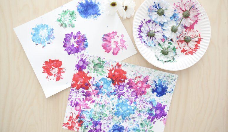 Flower Stamp Art