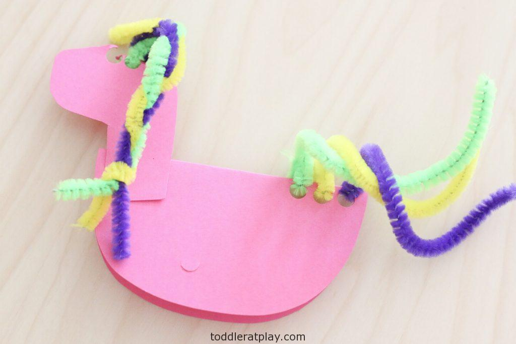 rocking unicorn craft- toddler at play (3)