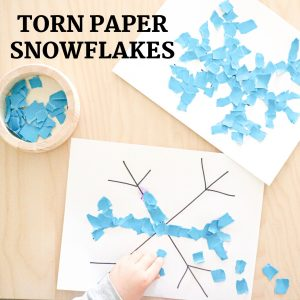 torn paper snowflakes- toddler at play (5)