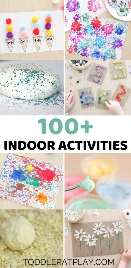 100 indoor activities- toddler at play