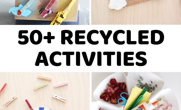 50+ Recycled Crafts