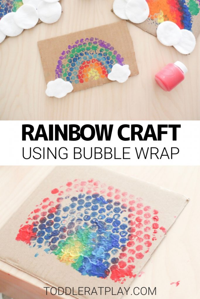 bubble wrap rainbow craft- toddler at play (6)