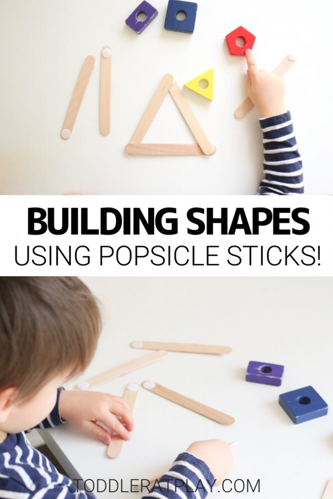 building popsicle stick shapes activity- toddler at play (2)building popsicle stick shapes activity- toddler at play (2)