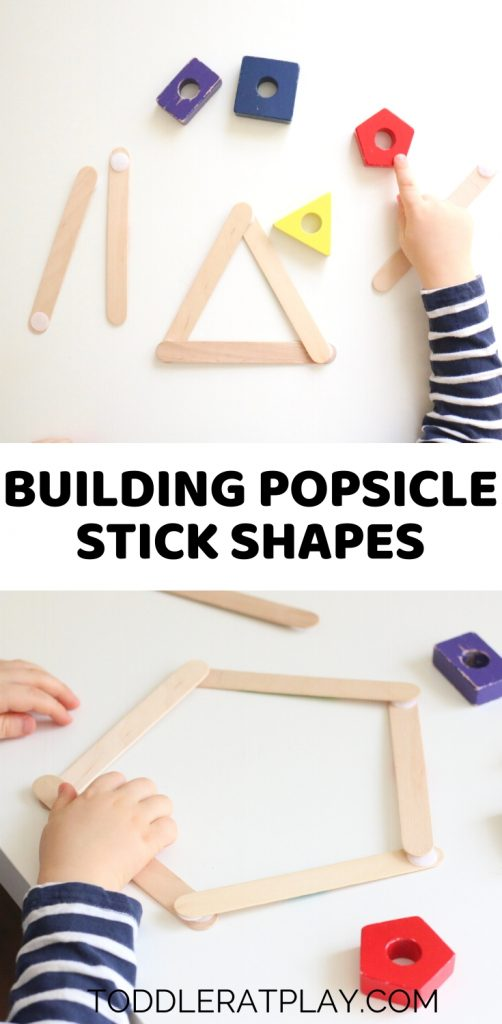 building popsicle stick shapes activity- toddler at play (2)