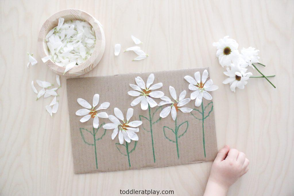 flower petal art- toddler at play (5)