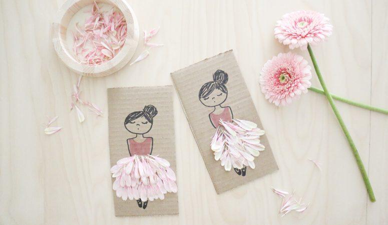 Flower Petal Ballerina Craft