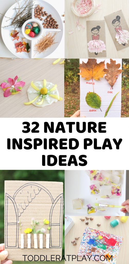 nature inspired activities- toddler at play