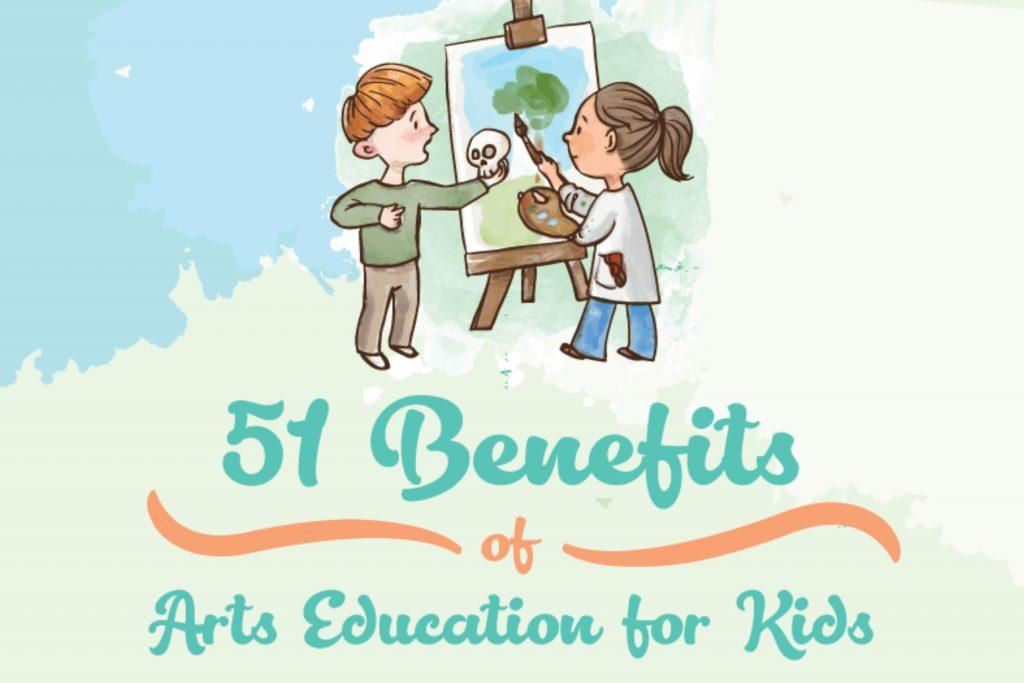 51 benefits of arts