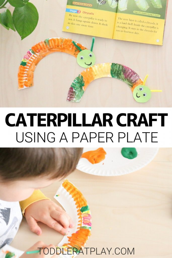 paper plate caterpillar craft- toddler at play (2)